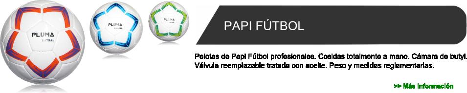 PLUMA Deportes - Fábrica de Pelotas de Papi Fútbol 72d7102ddd765